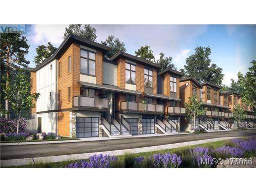 Main Photo: 131 300 Phelps Avenue in VICTORIA: La Thetis Heights Townhouse for sale (Langford)  : MLS®# 376866