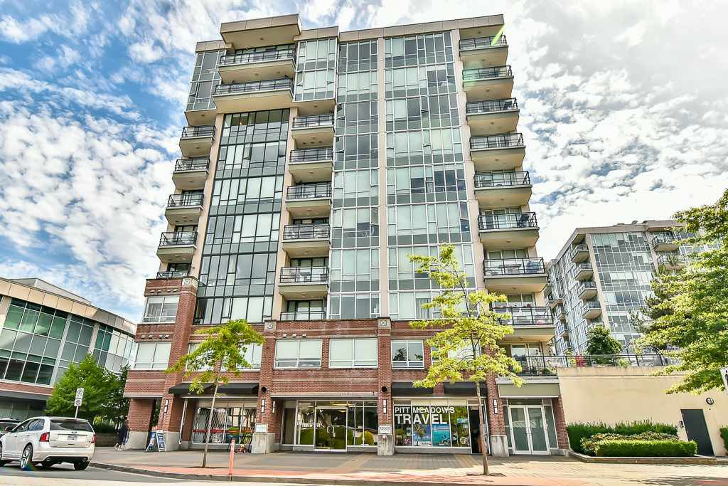 "Main Photo: 307 12069 HARRIS Road in Pitt Meadows: Central Meadows Condo for sale in ""SOLARIS AT MEADOWS GATE TOWER 1"" : MLS®# R2186323"