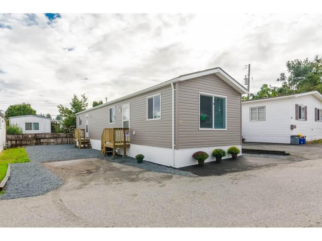 Main Photo: 10 26892 FRASER Highway in Langley: Aldergrove Langley Manufactured Home for sale : MLS®# R2304212