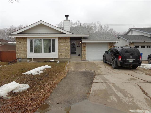 Main Photo: 59 Woodchester Bay in Winnipeg: Residential for sale (1G)  : MLS®# 1907944