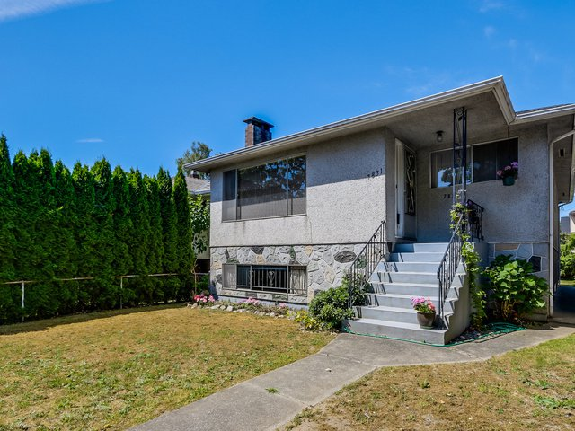 Main Photo: 7831 Heather Street in Vancouver: Marpole Home for sale ()  : MLS®# V1130597