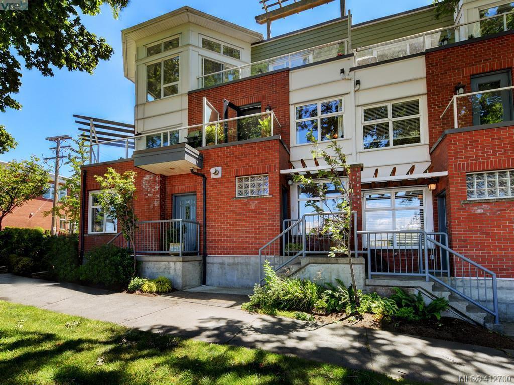 Main Photo: 13 60 Dallas Road in VICTORIA: Vi James Bay Row/Townhouse for sale (Victoria)  : MLS®# 412700