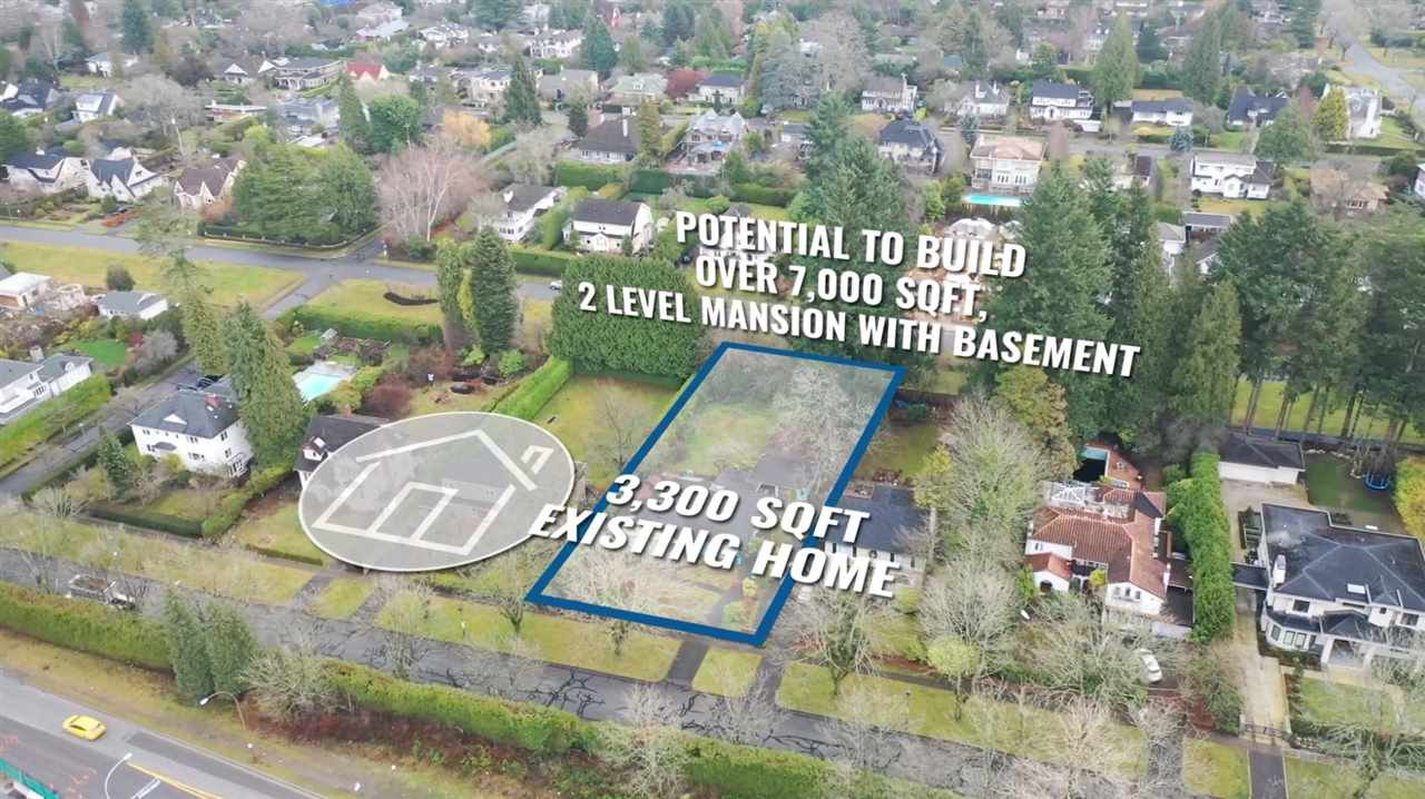 Main Photo: 1836 WESBROOK Crescent in Vancouver: University VW House for sale (Vancouver West)  : MLS®# R2424262
