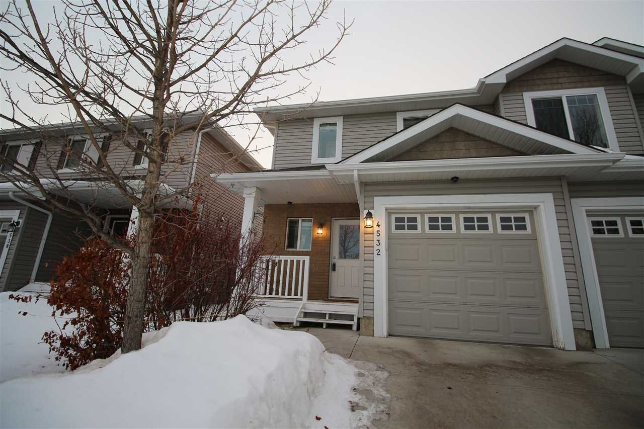 Main Photo: 4532 214 Street in Edmonton: Zone 58 House Half Duplex for sale : MLS®# E4190170