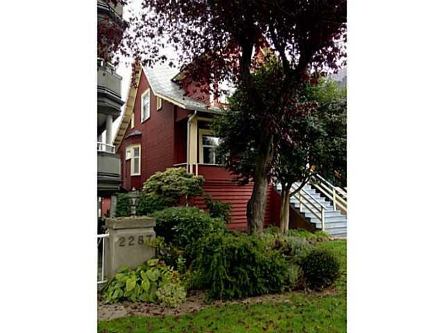 Main Photo: 2275 W 3RD AV in Vancouver: Kitsilano Land for sale (Vancouver West)  : MLS®# V1032629