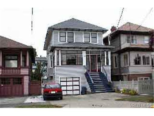 Main Photo: 1115 Princess Ave in VICTORIA: Vi Central Park Full Duplex for sale (Victoria)  : MLS®# 246698