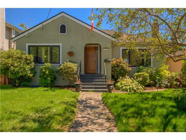 Main Photo: 1528 LONDON Street in New Westminster: West End NW House for sale : MLS®# V1136667