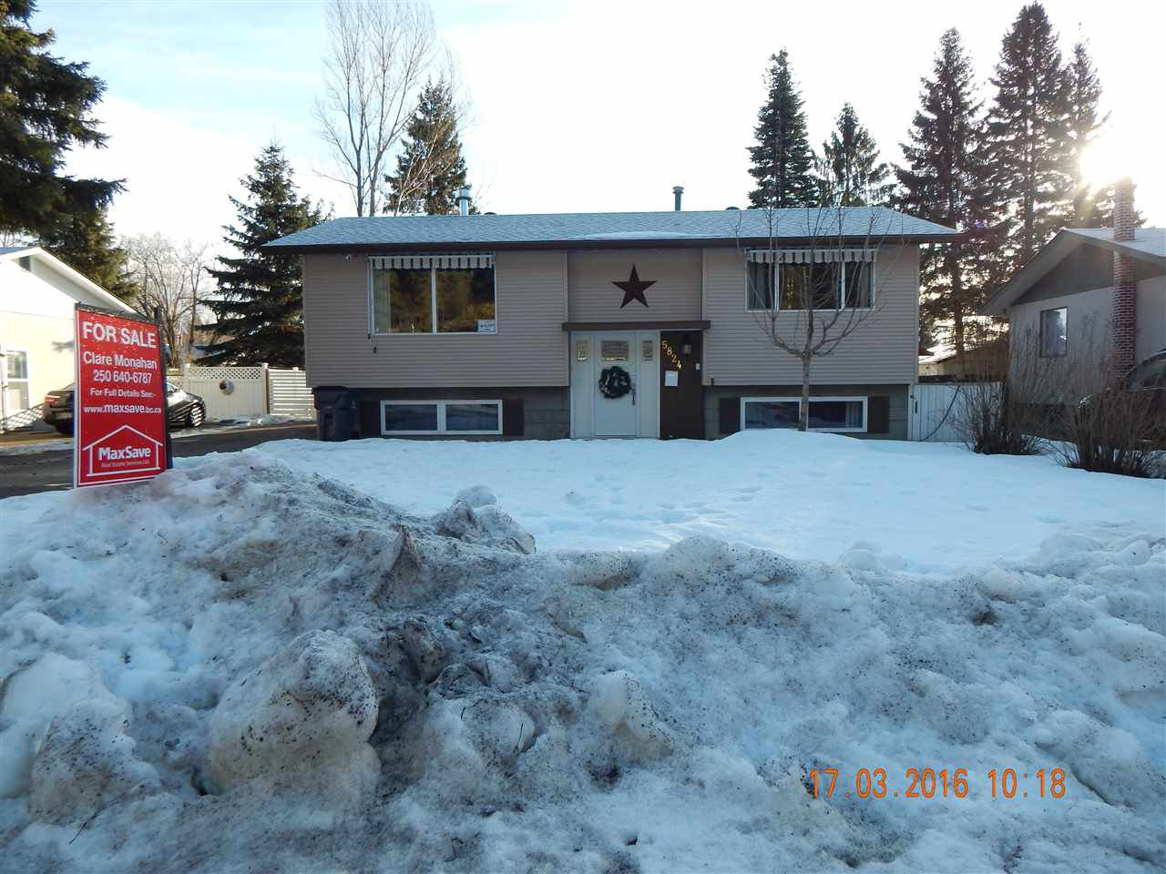 Main Photo: 5824 BROCK Drive in Prince George: Lower College House for sale (PG City South (Zone 74))  : MLS®# R2035323