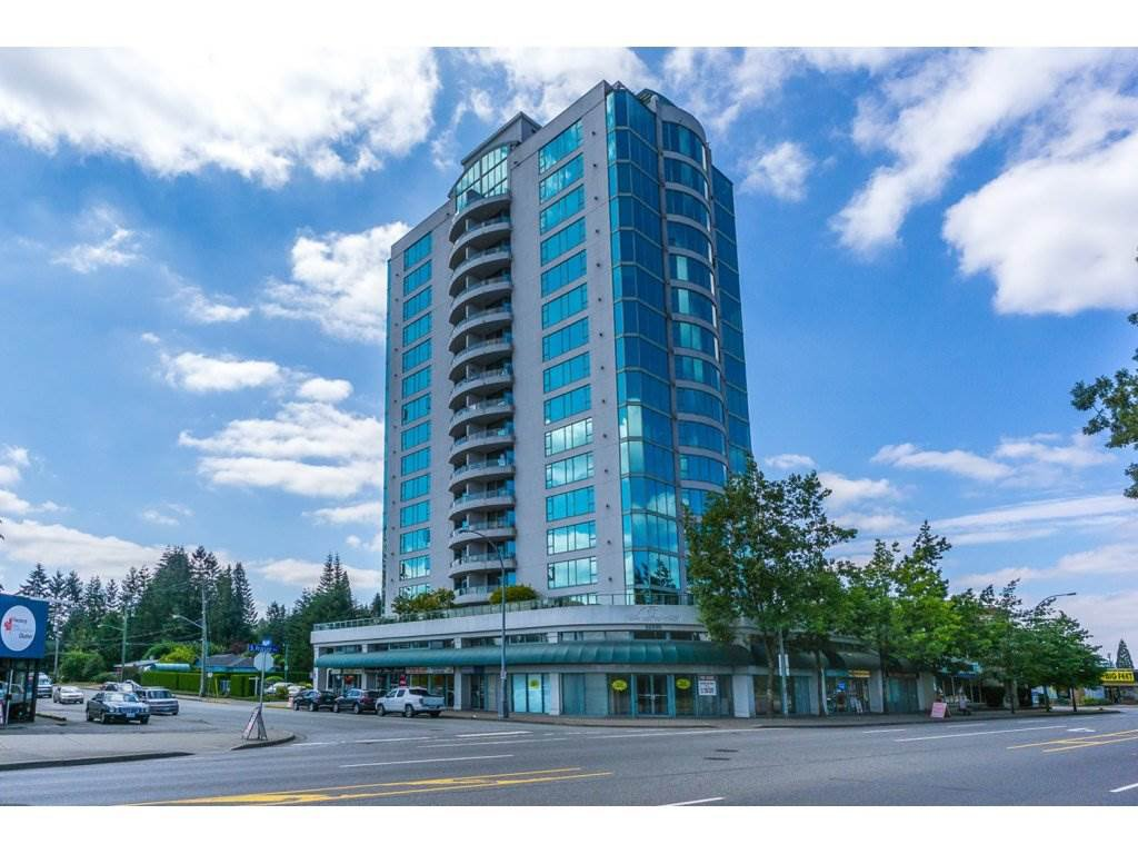 "Main Photo: 1102 32330 S FRASER Way in Abbotsford: Abbotsford West Condo for sale in ""Town Centre Tower"" : MLS®# R2097122"