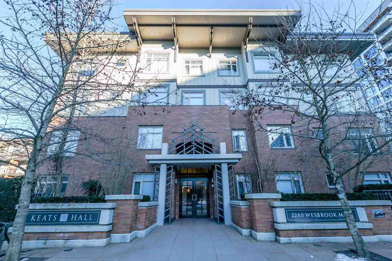 """Main Photo: 418 2280 WESBROOK Mall in Vancouver: University VW Condo for sale in """"Keats Hall"""" (Vancouver West)  : MLS®# R2131319"""