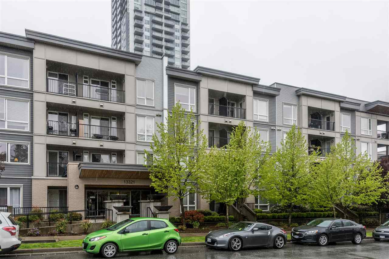 "Main Photo: 124 13321 102A Avenue in Surrey: Whalley Condo for sale in ""AGENDA"" (North Surrey)  : MLS®# R2161489"