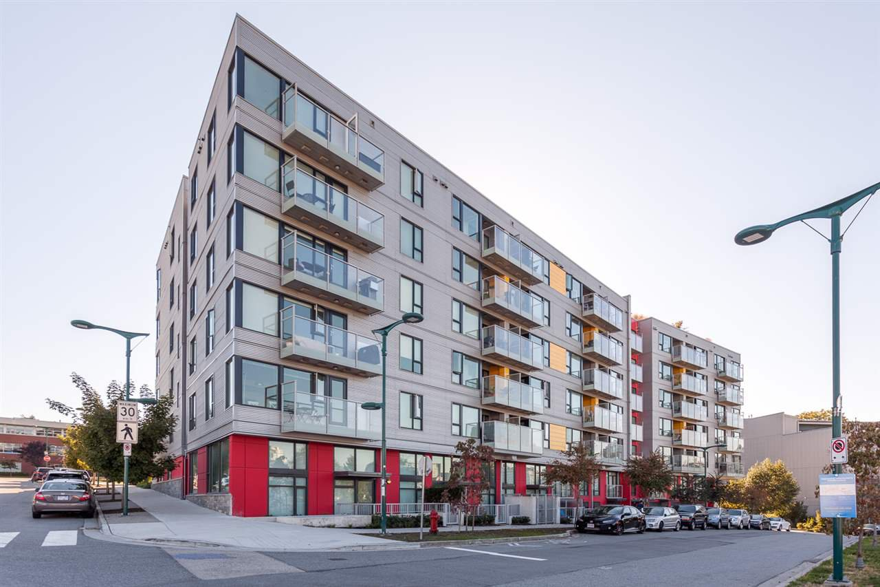 "Main Photo: 205 384 E 1ST Avenue in Vancouver: Mount Pleasant VE Condo for sale in ""CANVAS"" (Vancouver East)  : MLS®# R2212323"