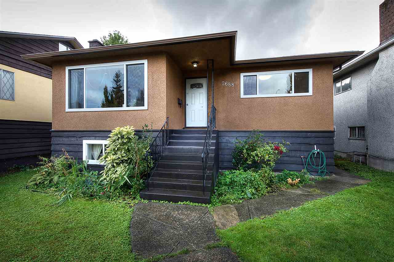 """Main Photo: 2688 HORLEY Street in Vancouver: Collingwood VE House for sale in """"NORQUAY"""" (Vancouver East)  : MLS®# R2212925"""