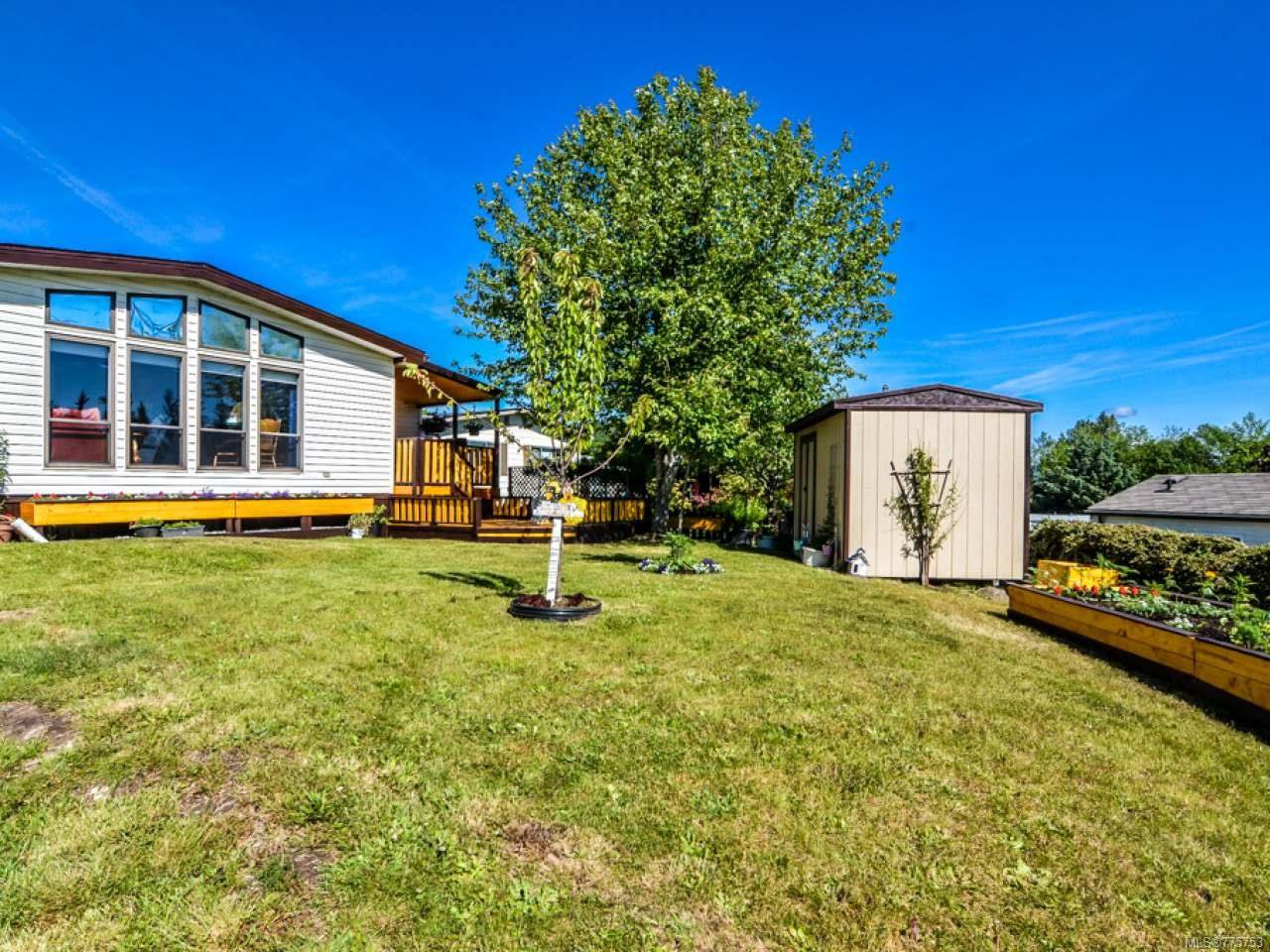 Main Photo: 75 951 Homewood Rd in CAMPBELL RIVER: CR Campbell River Central Manufactured Home for sale (Campbell River)  : MLS®# 775753