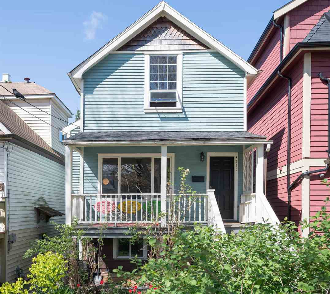 Main Photo: 3115 ST. GEORGE Street in Vancouver: Mount Pleasant VE House for sale (Vancouver East)  : MLS®# R2260655
