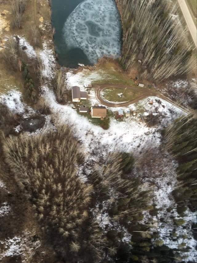 aerial of homesite