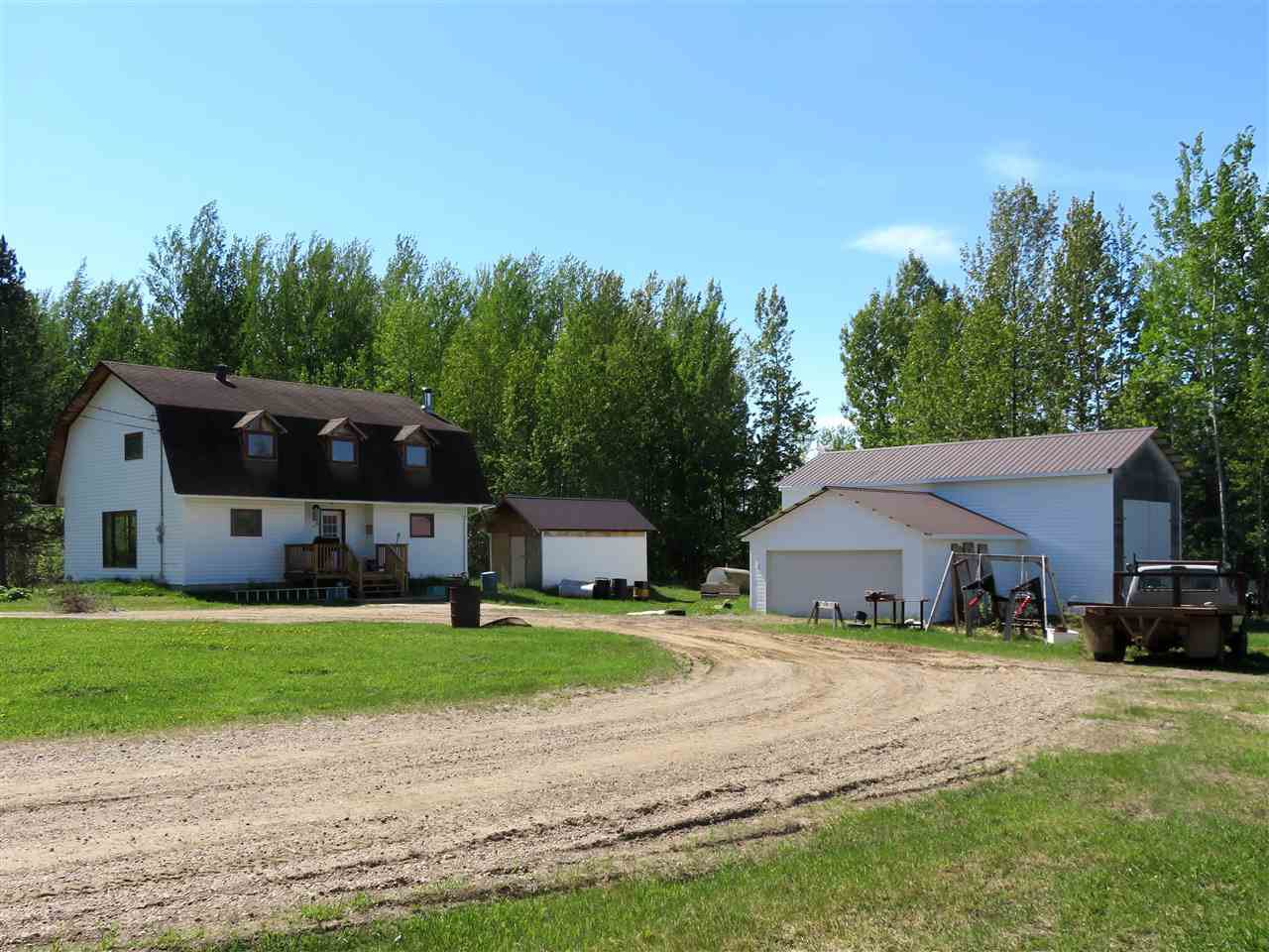 Main Photo: MILE 283 97 (ALASKA) Highway in Fort Nelson: Fort Nelson - Rural House for sale (Fort Nelson (Zone 64))  : MLS®# R2275782