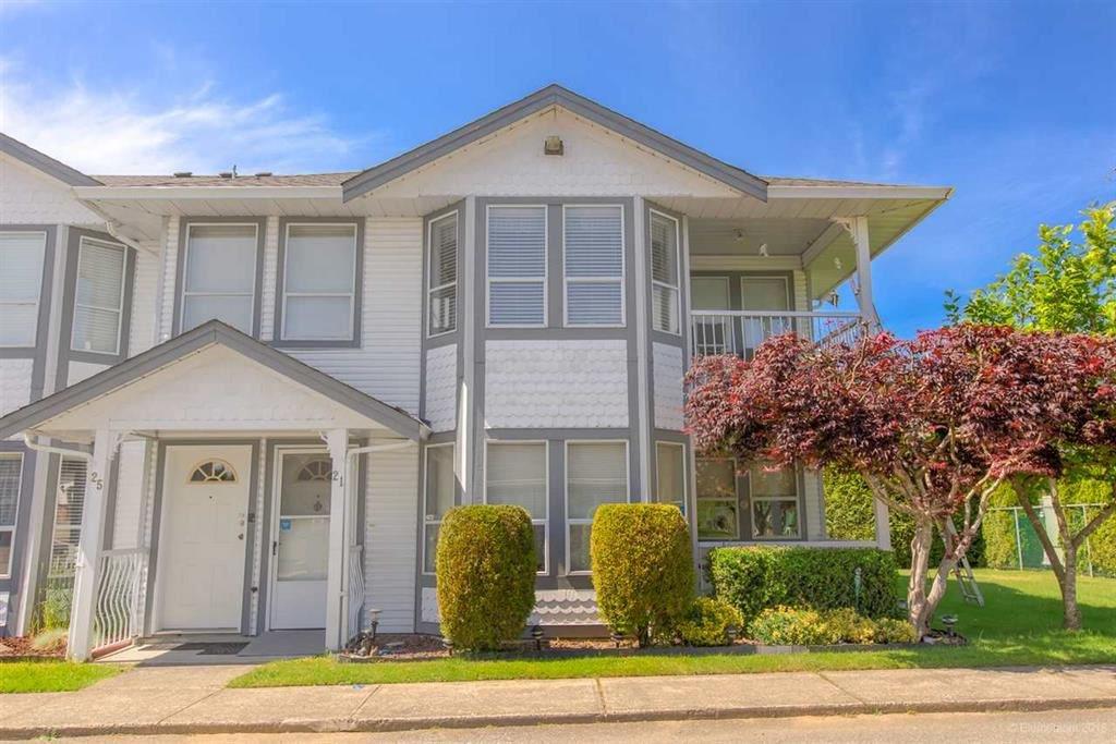"Main Photo: 21 20554 118 Avenue in Maple Ridge: Southwest Maple Ridge Townhouse for sale in ""COLONIAL WEST"" : MLS®# R2382314"
