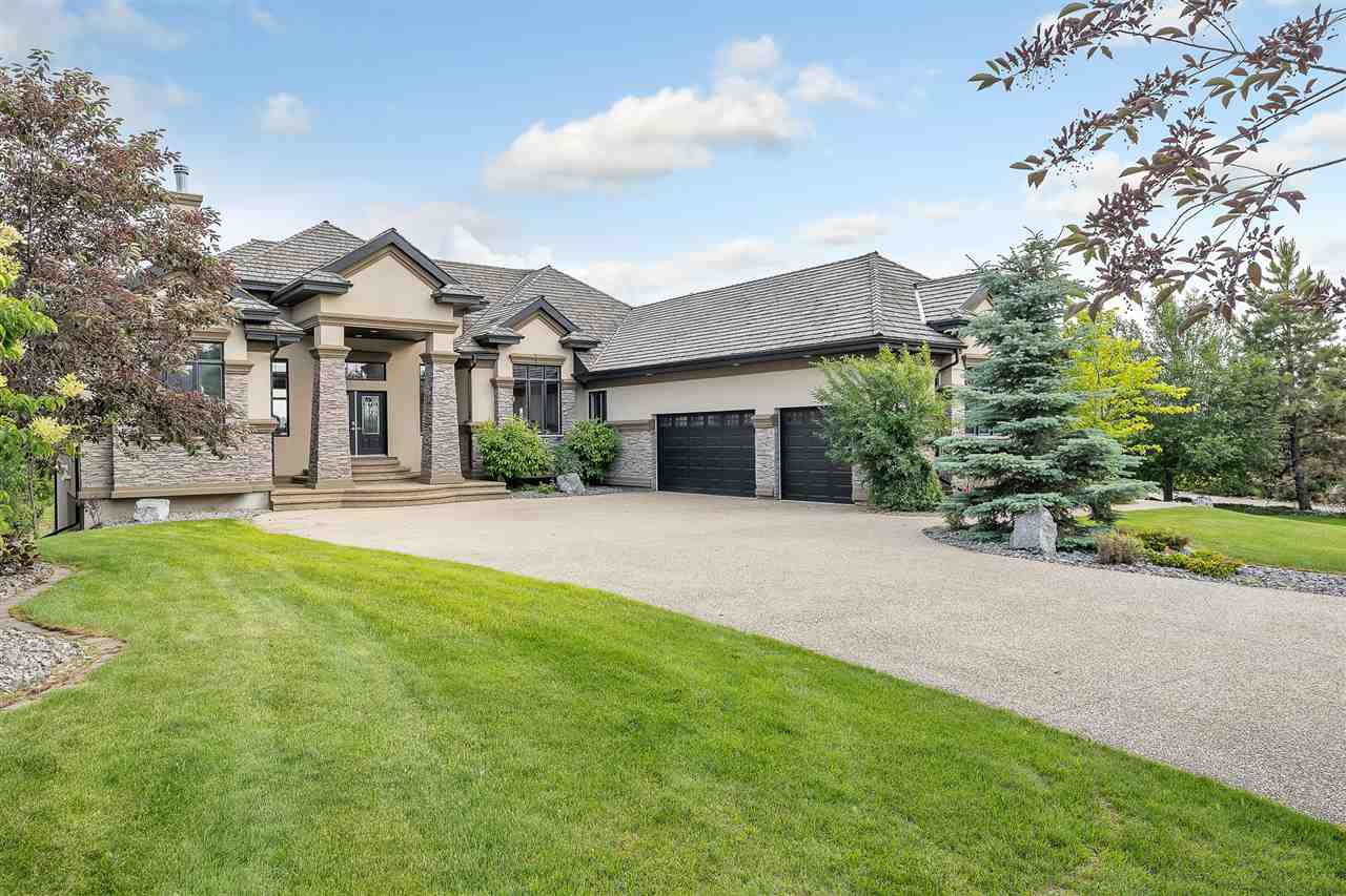 Main Photo: 30 Pinnacle Place NW: Rural Sturgeon County House for sale : MLS®# E4201292