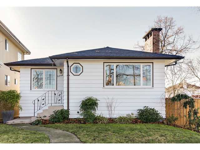 Main Photo: 2506 WILLIAM ST in Vancouver: Renfrew VE House for sale (Vancouver East)  : MLS®# V1045480