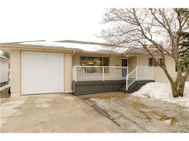 Main Photo: 241 Gilmore Avenue in Winnipeg: North Kildonan Residential for sale (3G)  : MLS®# 1703377