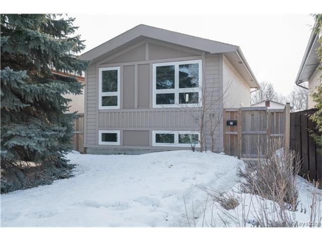 Main Photo: 59 Laurent Drive in Winnipeg: Grandmont Park Residential for sale (1Q)  : MLS®# 1703999