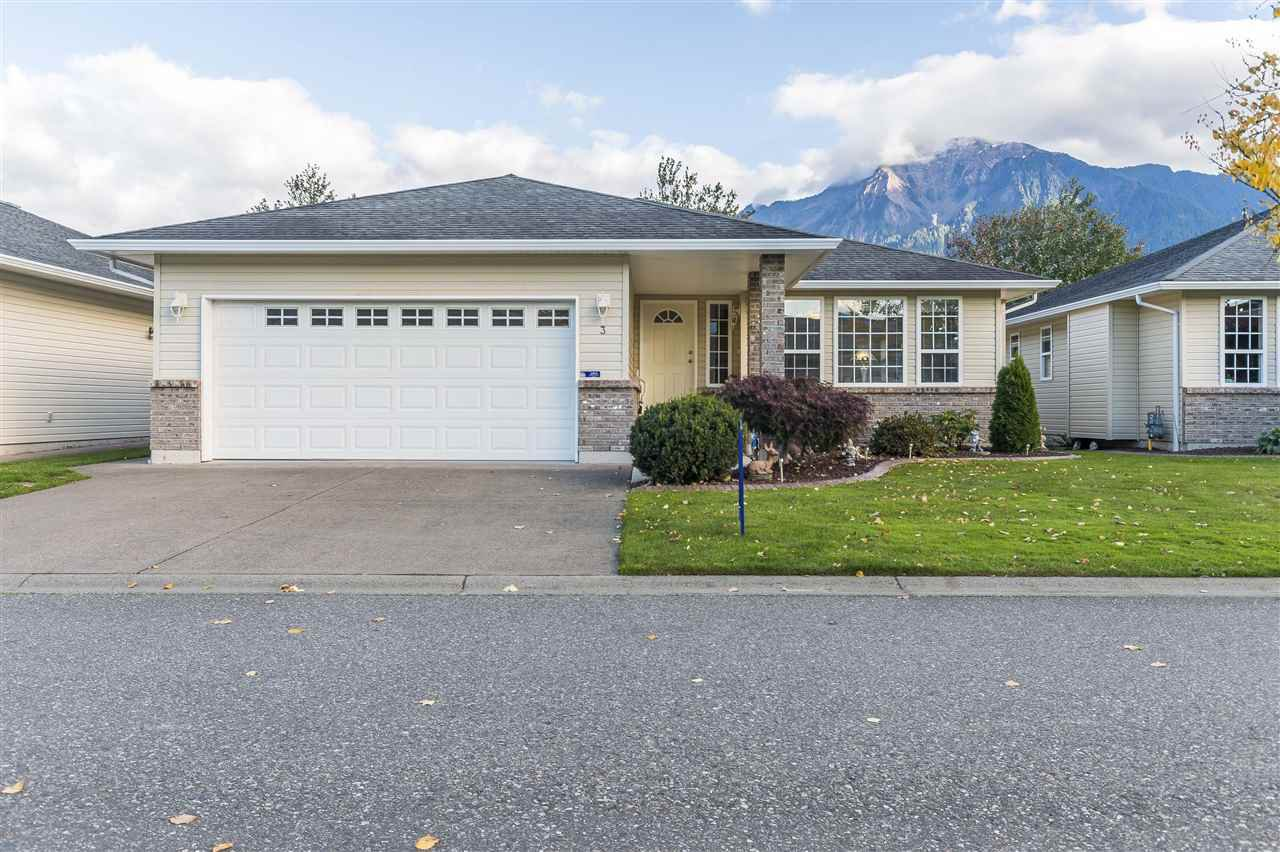"""Main Photo: 3 7292 ELM Road: Agassiz House for sale in """"Maplewood Village"""" : MLS®# R2313163"""