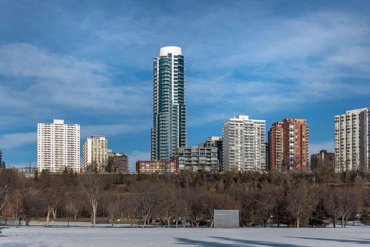 Photo 1: Photos: 3201 11969 JASPER Avenue in Edmonton: Zone 12 Condo for sale : MLS®# E4133707