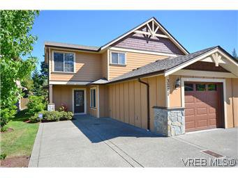 Main Photo: 3211 Ernhill Place in VICTORIA: La Walfred Townhouse for sale (Langford)  : MLS®# 301843