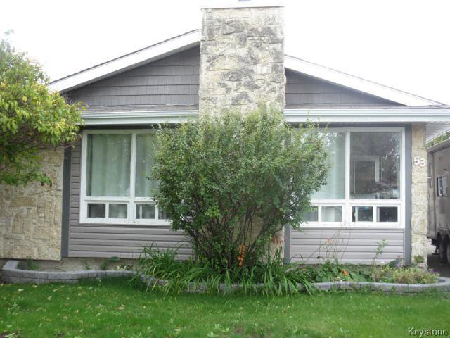 Main Photo: 53 Nolin Place in WINNIPEG: Fort Garry / Whyte Ridge / St Norbert Residential for sale (South Winnipeg)  : MLS®# 1505582