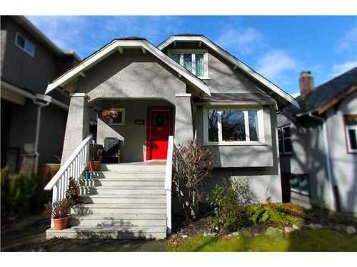 Main Photo: 3465 20TH Ave W in Vancouver West: Dunbar Home for sale ()  : MLS®# V873952