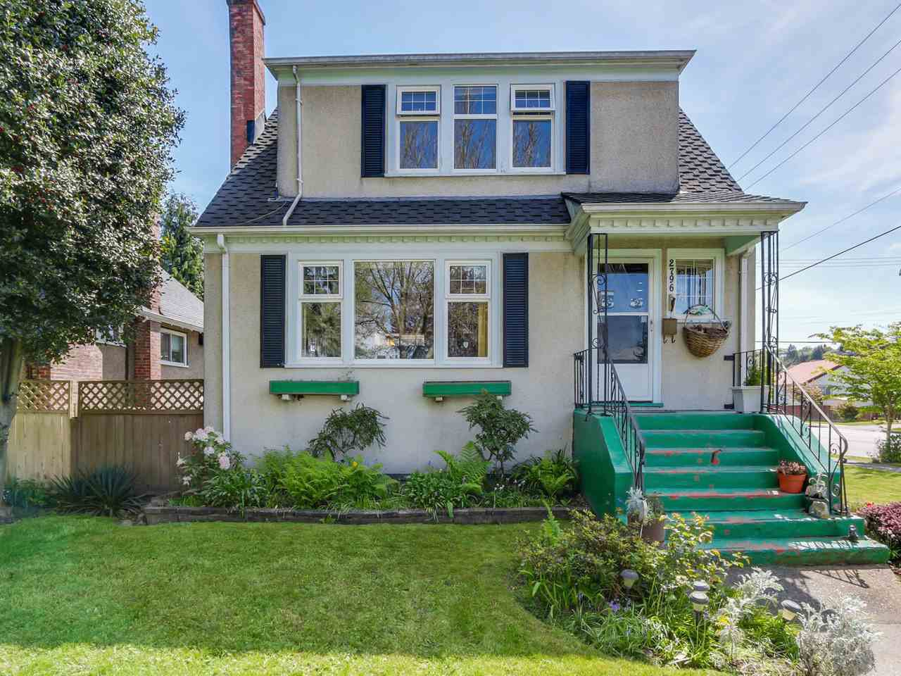 Main Photo: 2796 W 21ST Avenue in Vancouver: Arbutus House for sale (Vancouver West)  : MLS®# R2078868