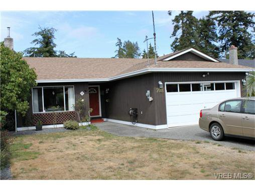 Main Photo: 708 Miller Avenue in VICTORIA: SW Royal Oak Single Family Detached for sale (Saanich West)  : MLS®# 368764