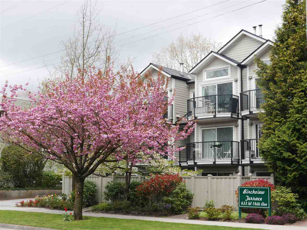 "Photo 6: Photos: 102 633 W 16 Avenue in Vancouver: Fairview VW Condo for sale in ""Birchview Terrace"" (Vancouver West)  : MLS®# R2163651"
