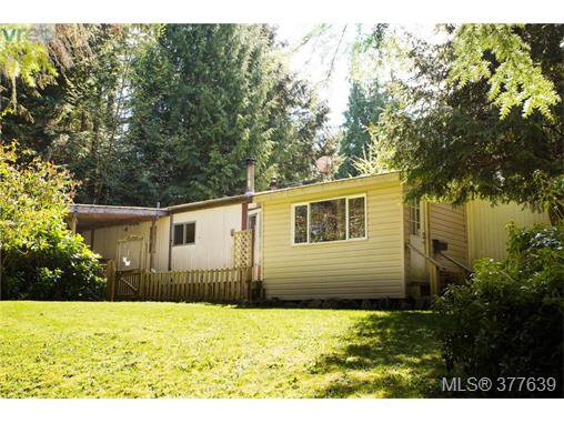 Main Photo: C3 920 Whittaker Road in MALAHAT: ML Shawnigan Lake Manu Single-Wide for sale (Malahat & Area)  : MLS®# 377639