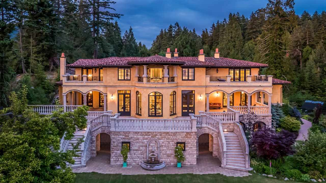 Main Photo: 5050 HAPPY VALLEY Lane in West Vancouver: Caulfeild House for sale : MLS®# R2178280