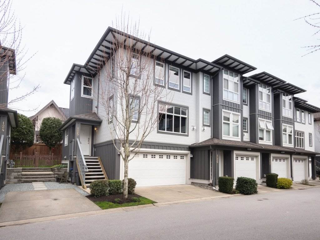 "Main Photo: 125 18777 68A Avenue in Surrey: Clayton Townhouse for sale in ""COMPASS"" (Cloverdale)  : MLS®# R2254690"