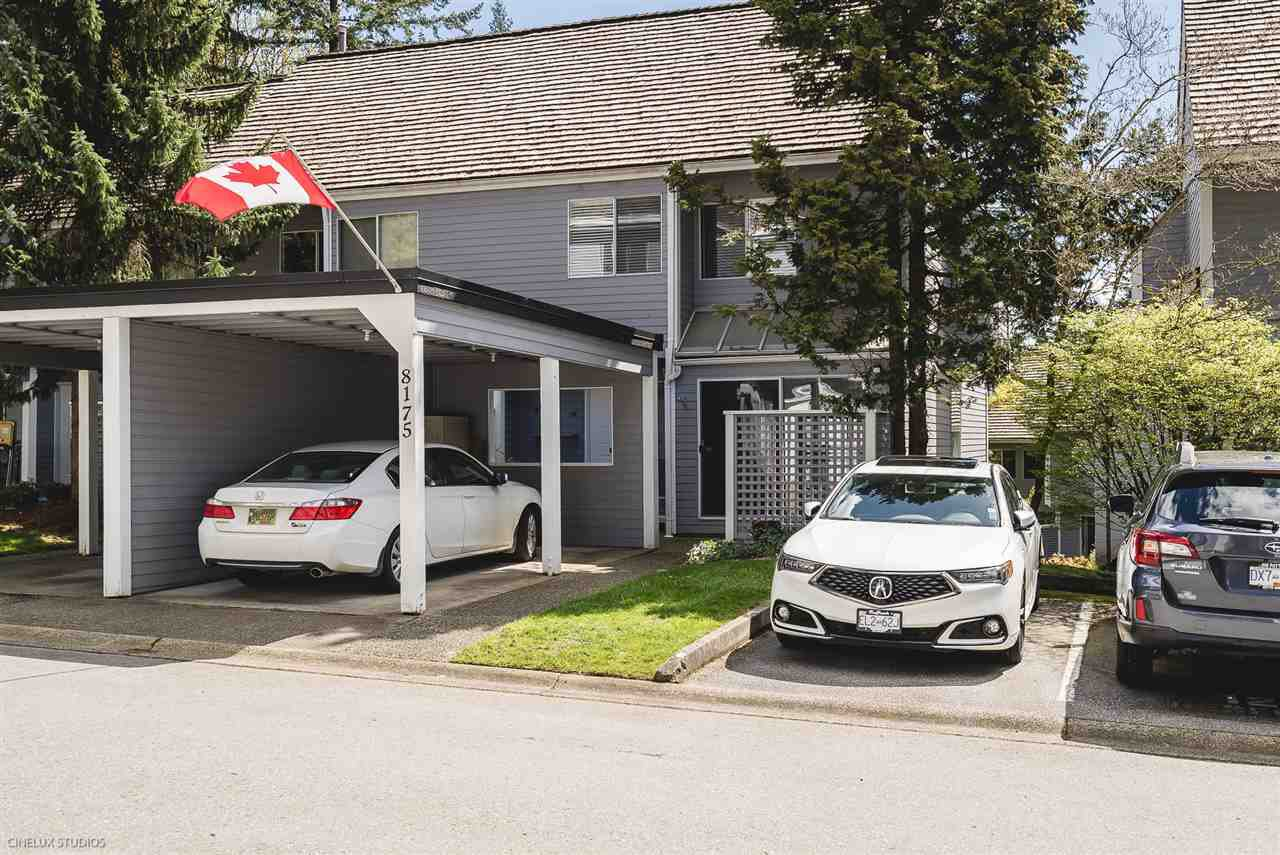 Main Photo: 8175 FOREST GROVE DRIVE in Burnaby: Forest Hills BN Townhouse for sale (Burnaby North)  : MLS®# R2259873