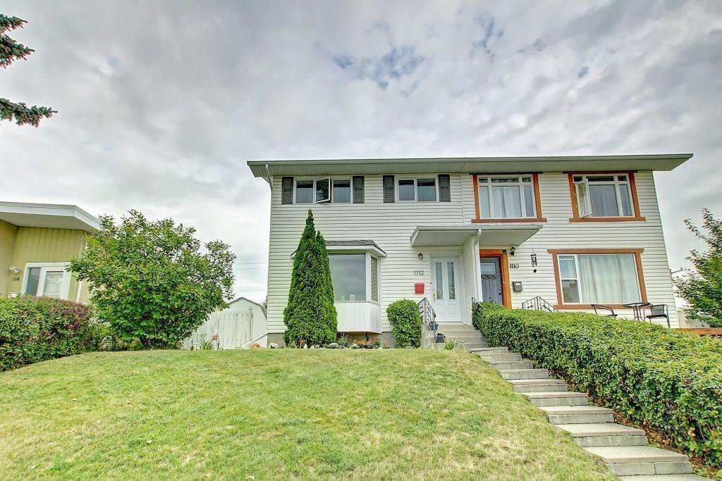 Main Photo: 1112 NINGA Road NW in Calgary: North Haven Semi Detached for sale : MLS®# C4222139