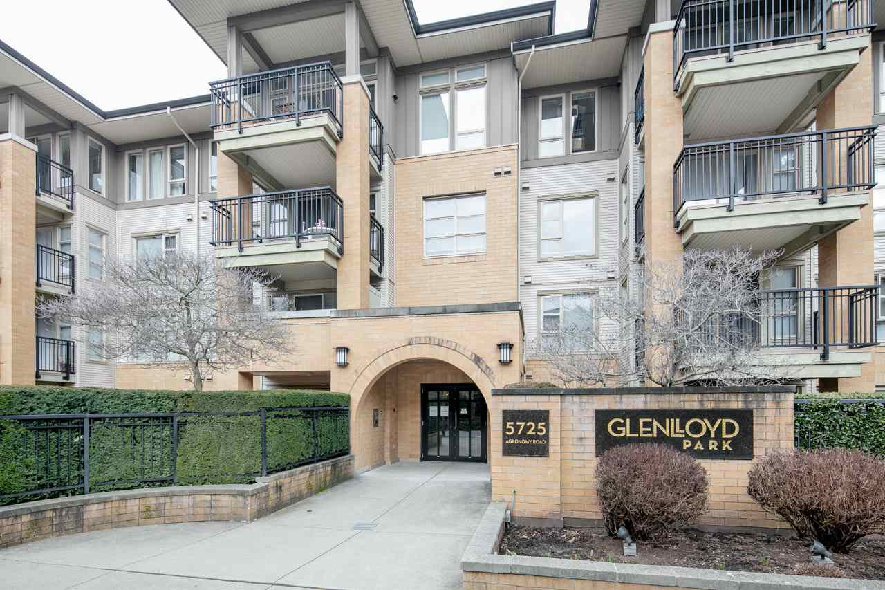 """Main Photo: 114 5725 AGRONOMY Road in Vancouver: University VW Condo for sale in """"GLENLLOYD PARK"""" (Vancouver West)  : MLS®# R2343269"""