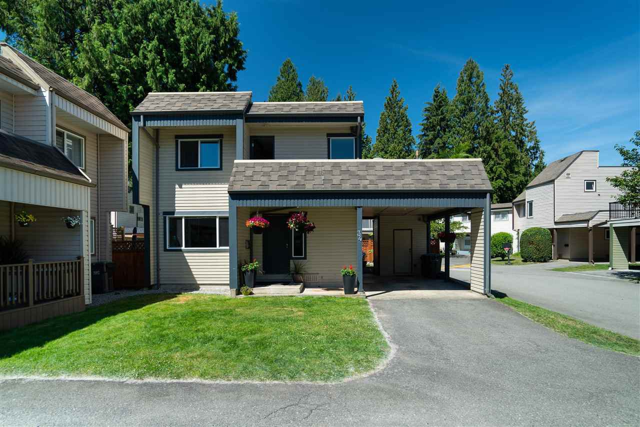 """Main Photo: 34 2986 COAST MERIDIAN Road in Port Coquitlam: Birchland Manor Townhouse for sale in """"MERIDIAN GARDENS"""" : MLS®# R2380834"""