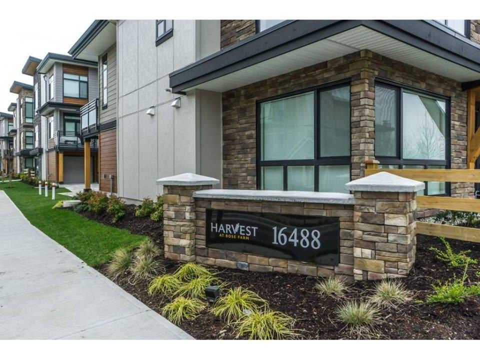 "Main Photo: 37 16488 64 Avenue in Surrey: Cloverdale BC Townhouse for sale in ""HARVEST at Bose Farms"" (Cloverdale)  : MLS®# R2383896"