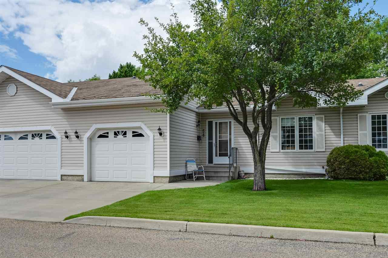 Main Photo: 58 9704 165 Street in Edmonton: Zone 22 Townhouse for sale : MLS®# E4206773