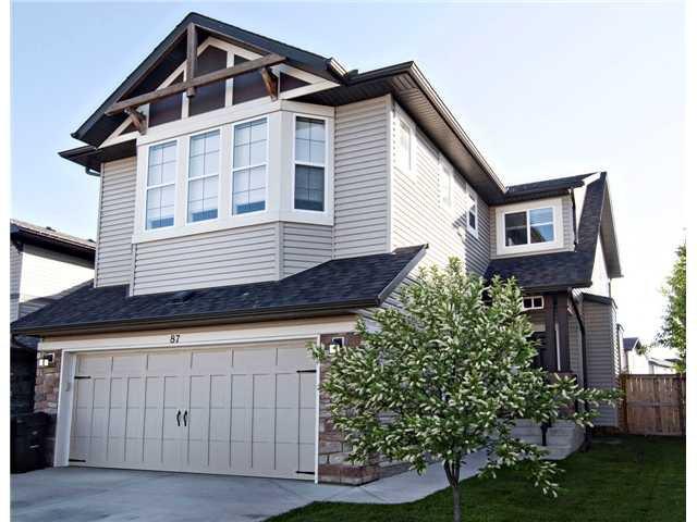 Main Photo: 87 BRIGHTONSTONE Passage SE in CALGARY: New Brighton Residential Detached Single Family for sale (Calgary)  : MLS®# C3620487