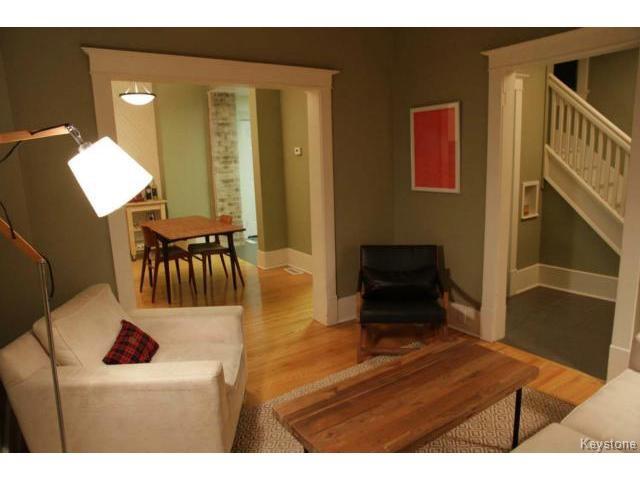 Photo 5: Photos: 612 Lipton Street in WINNIPEG: West End / Wolseley Residential for sale (West Winnipeg)  : MLS®# 1429204