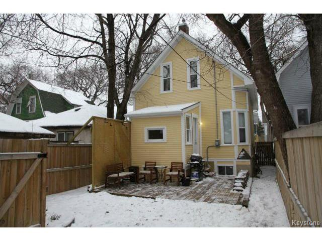 Photo 17: Photos: 612 Lipton Street in WINNIPEG: West End / Wolseley Residential for sale (West Winnipeg)  : MLS®# 1429204