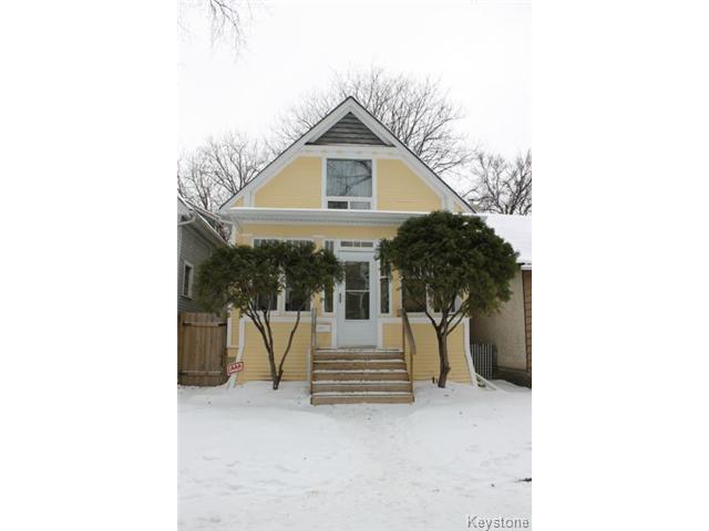 Main Photo: 612 Lipton Street in WINNIPEG: West End / Wolseley Residential for sale (West Winnipeg)  : MLS®# 1429204