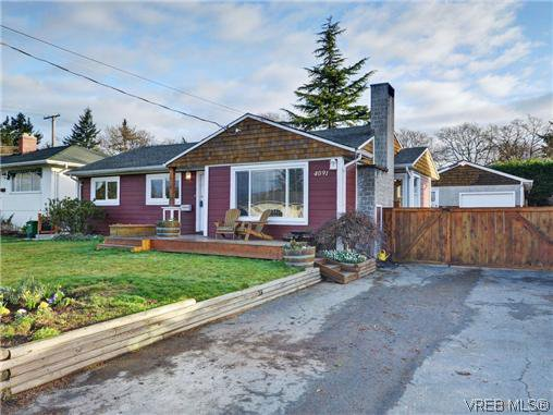 Main Photo: 4091 Borden Street in VICTORIA: SE Lake Hill Single Family Detached for sale (Saanich East)  : MLS®# 359730
