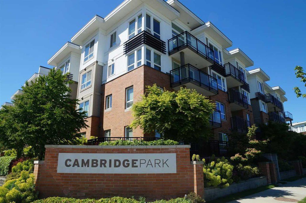 "Main Photo: 202 9399 TOMICKI Avenue in Richmond: West Cambie Condo for sale in ""CAMBRIDGE PARK BY POLYGON"" : MLS®# R2064945"