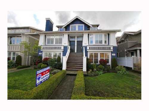Main Photo: 166 16TH Ave: Cambie Home for sale ()  : MLS®# V815213